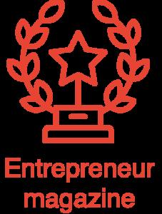 Entrepreneur Magazine award icon